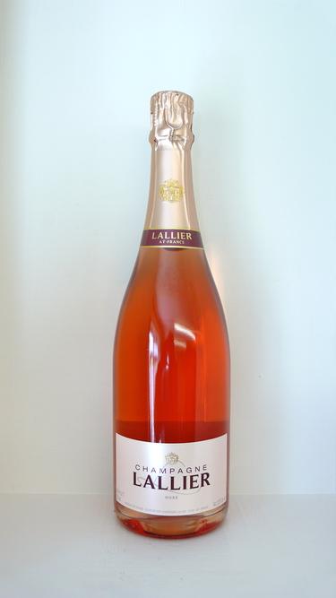 Buy wine online - LALLIER CHAMPAGNE  1er CRU ROSÉ BRUT